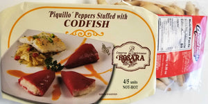 Piquillo Peppers Stuffed with CODFISH - Europea Food