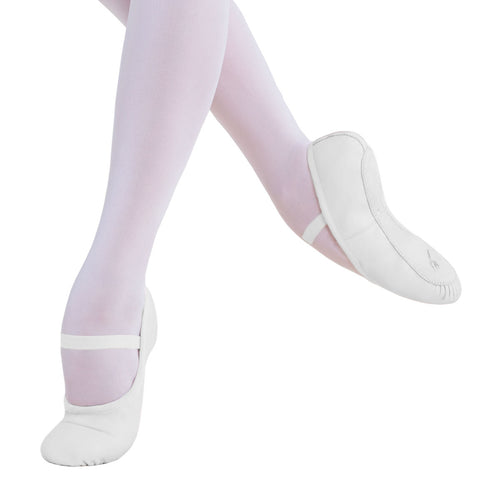 Ballet Shoe Full Sole - White (Child)