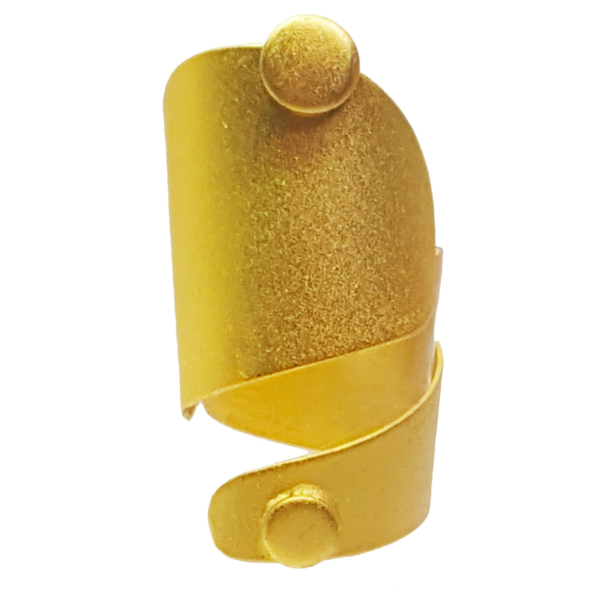 baddest bish ever fine jewelry eminence 24 karat gold ring Egyptian royalty collection