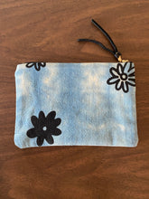 Load image into Gallery viewer, Shibori Floral Pouch