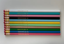 Load image into Gallery viewer, Set of 12 Personalized Pencils-Mix and Match
