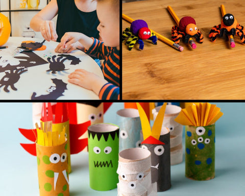 Halloween crafts for kids. Farry Fashion