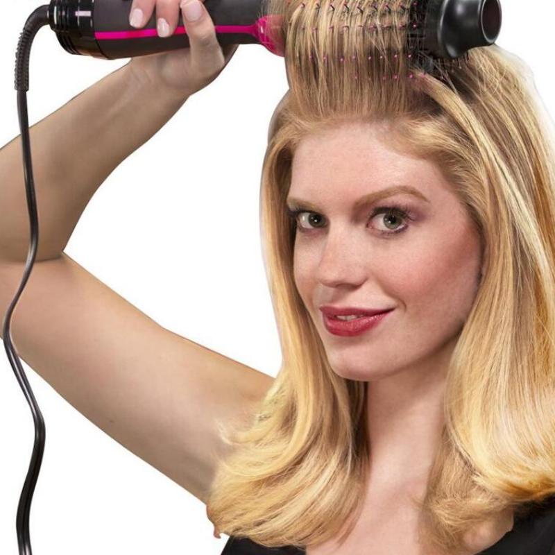 Electric Hair Brush and Curler