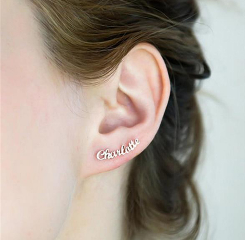 Farry Name Earrings