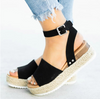 Light Bottom Hemp Rope Sandal