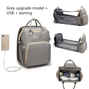 Baby Bag With Portable Bed
