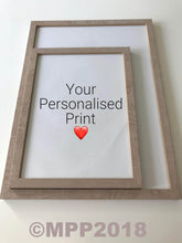 Load image into Gallery viewer, PERSONALISED PRINTS