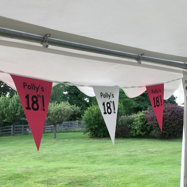 Why choose personalised Bunting?