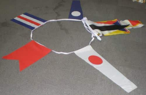 Nautical Bunting - 25 metres