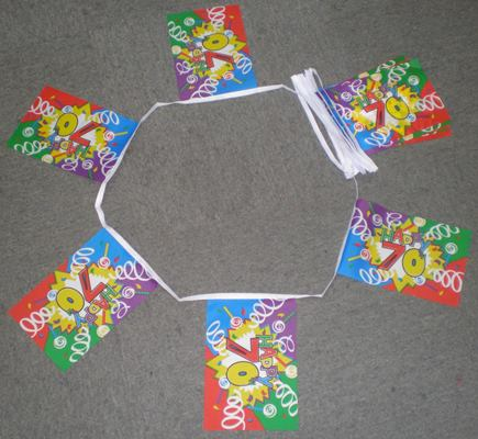 Happy 70th Birthday Bunting - 6 metres
