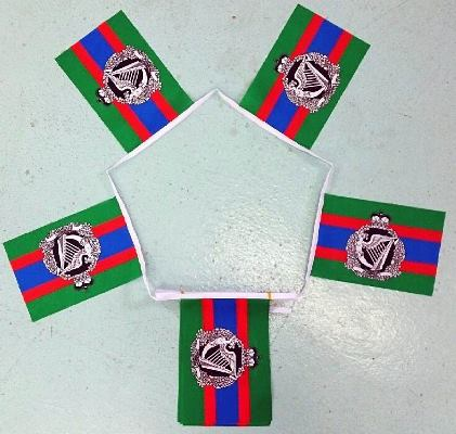 Royal Irish Regiment Bunting - 6 metres