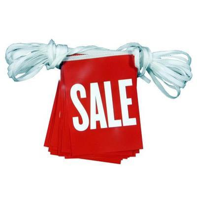 A5 Rectangular SALE Synthetic Bunting
