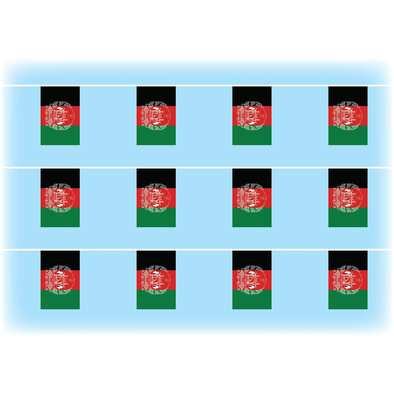 Afghanistan flag bunting