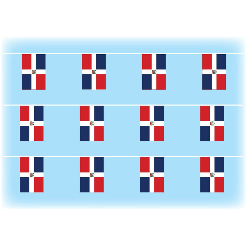 Dominican Republic flag bunting
