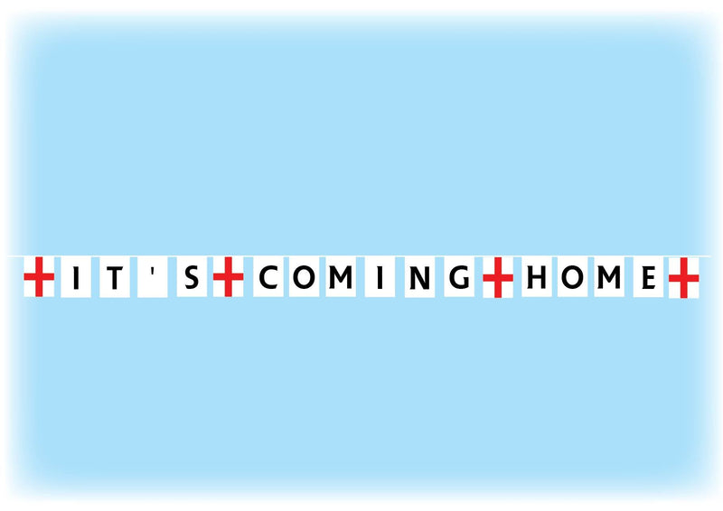 It's Coming Home Bunting