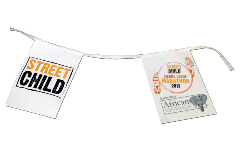 Bespoke Printed Paper Bunting - A4 Rectangles