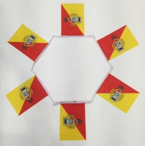 6m 20 Flag Royal Armoured Corps Bunting