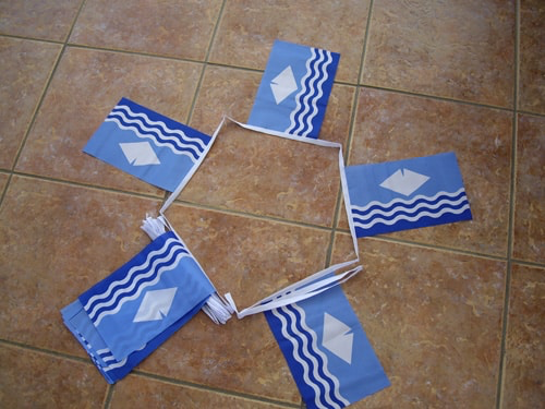 6m 20 Flag Isle Of Wight (New) Bunting