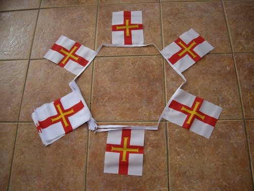 6m 20 Flag Guernsey Bunting