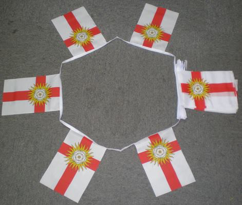 6m 20 Flag Yorkshire West Riding Bunting