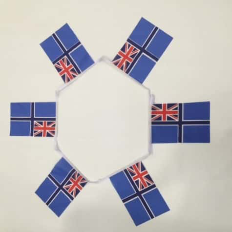 Civil Air Ensign Bunting - 6 metres