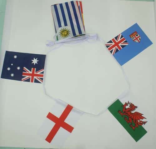 6m 20 Flag Rugby World Cup 2015 Bunting