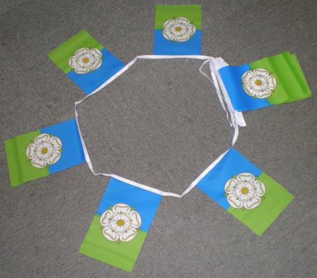 6m 20 Flag Yorkshire East Riding Bunting