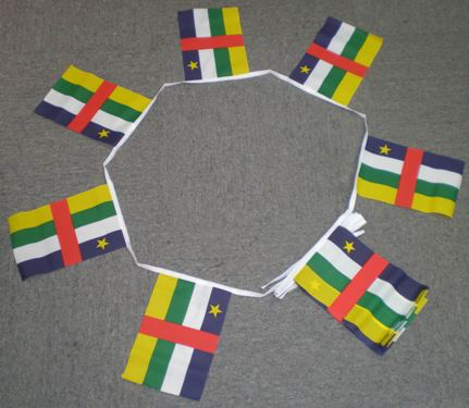 Central African Republic Bunting - 6 metres