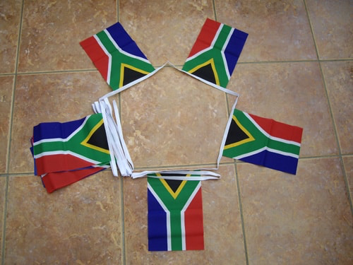 6m 20 Flag South Africa