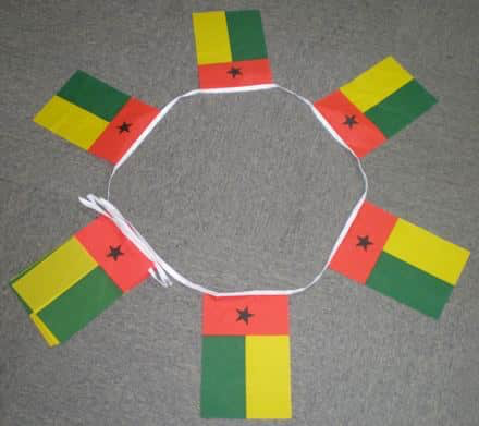 6m 20 Flag Guinea Bissau Bunting
