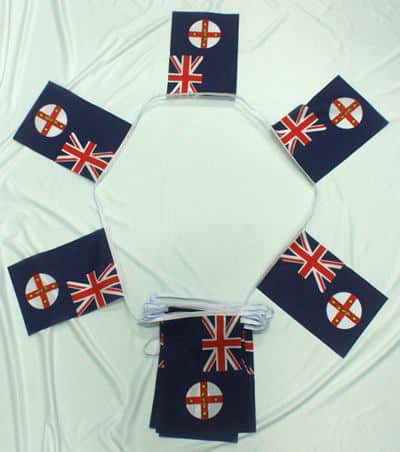 6m 20 Flag New South Wales Bunting