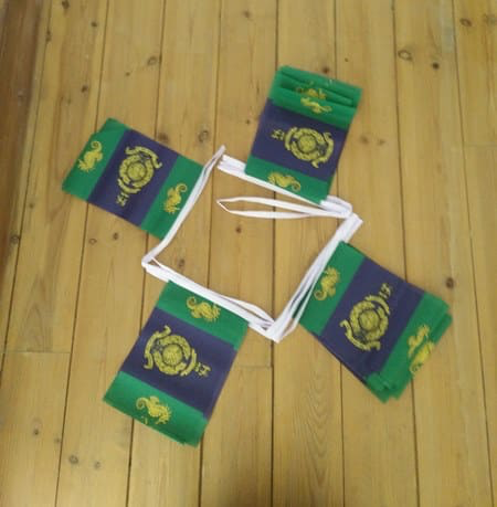 6m 20 Flag Logistic Regiment Royal Marines Bunting