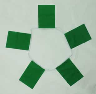 6m 20 Flag Green Bunting