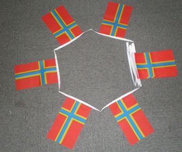 6m 20 Flag Orkney Bunting New