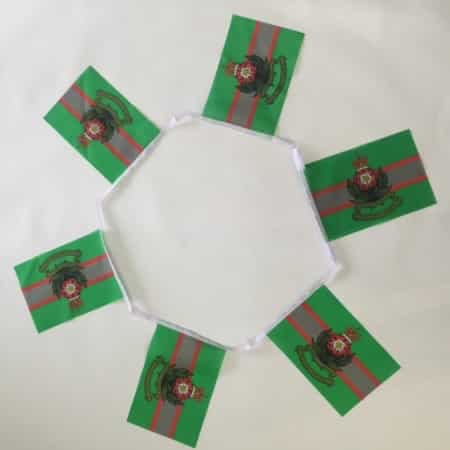 6m 20 Flag Intelligence Corps Bunting