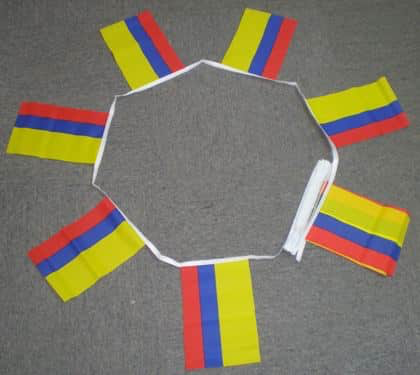 Republic Of Colombia Bunting - 6 metres