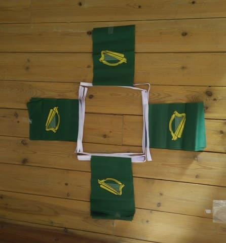 6m 20 Flag Leinster Bunting