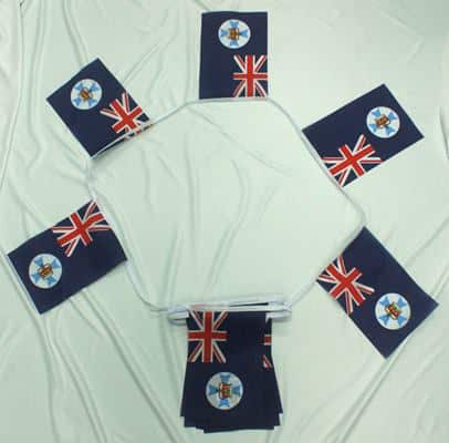 6m 20 Flag Queensland Bunting