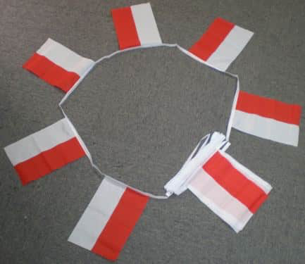 6m 20 Flag Indonesia Bunting