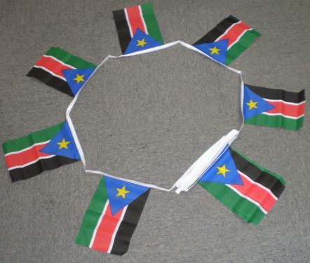 6m 20 Flag Southern Sudan Bunting