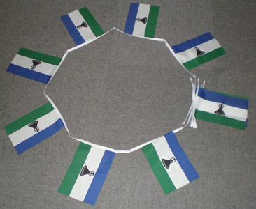 6m 20 Flag Lesotho New Bunting