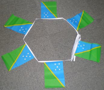 6m 20 Flag Solomon Islands Bunting