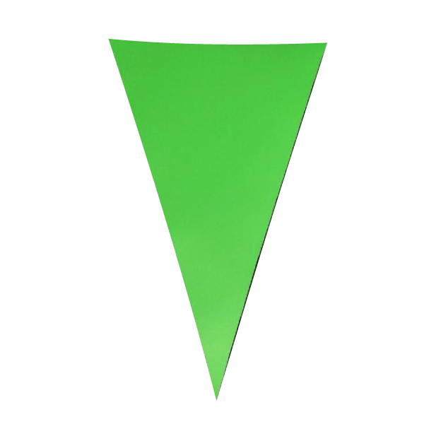 Light Green PVC Bunting - 10 metres
