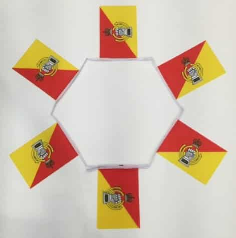 Royal Armoured Corps Bunting - 6 metres
