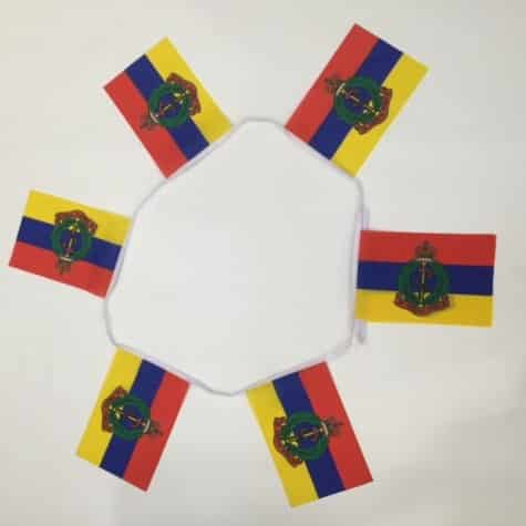 Royal Armoured Medical Corps Bunting - 6 metres