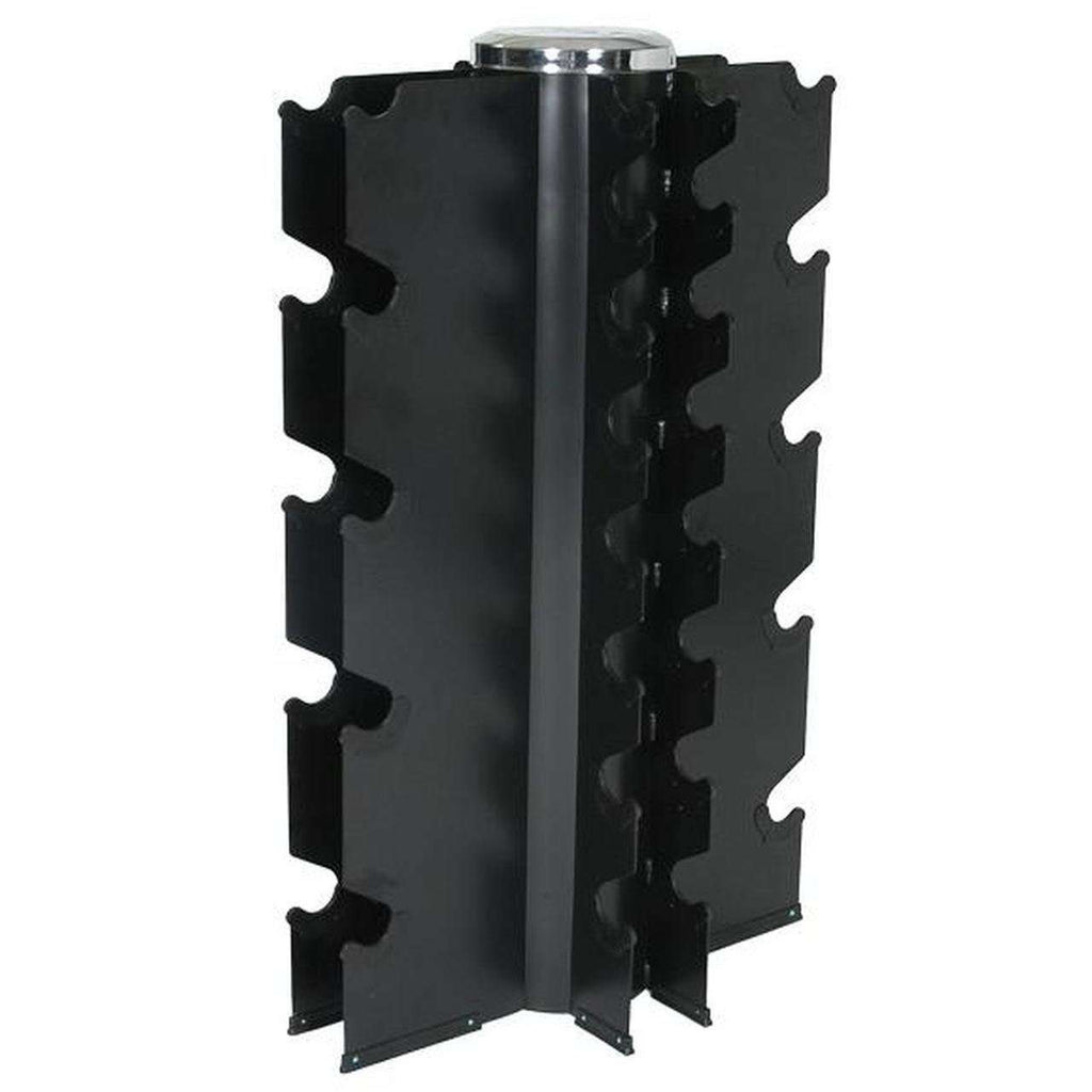 ARROW Vertical Dumbbell Rack - 4 Sided (Holds 13 Pairs)
