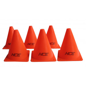 HCE Sports Cone 15cm (SET OF 6)