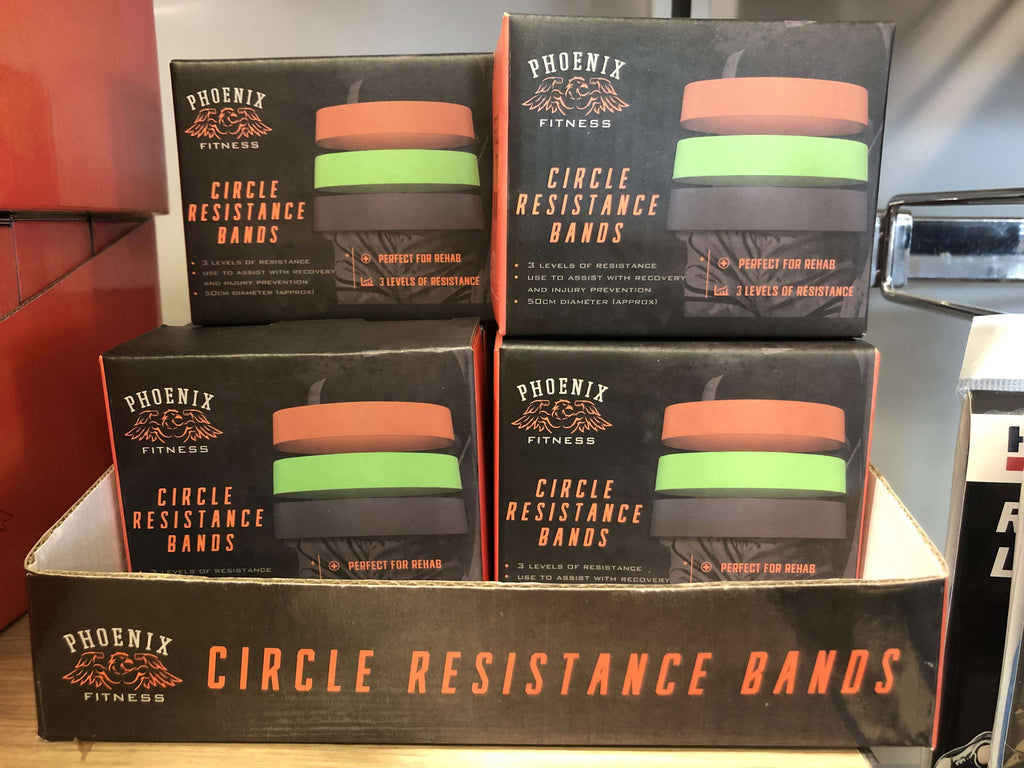 Phoenix Circle Resistance Loop Bands Set of 3 - 10 PACK