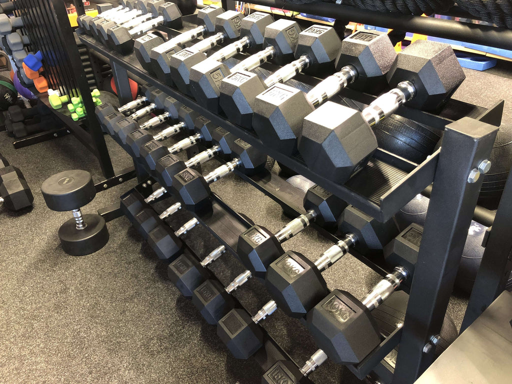 SCF 3 Tier Dumbbell Rack