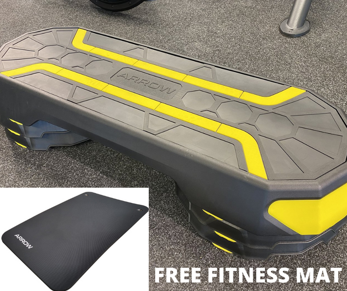 ARROW MONSTER STEP with FREE FITNESS MAT